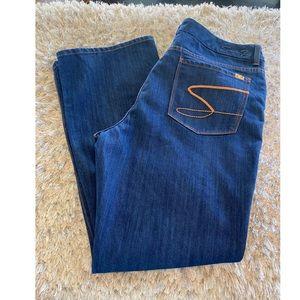 Seven7 Thalia Bootcut Jeans Size 22